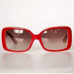 Missoni Red square sunglasses